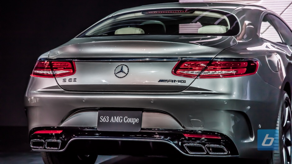 MB C63 Coupe 2015