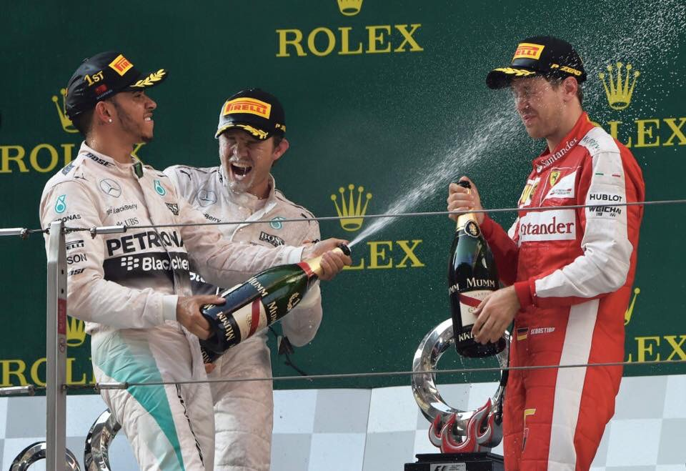 MERCEDES AMG win Chinese GP